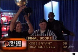 Kobe Bryant Is Defeated by a Busboy in Basketball