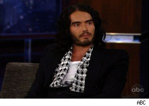 Russell Brand Talks About His In-Laws with Jimmy Kimmel