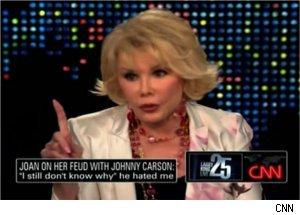 Joan Rivers Talks Hecklers, Documentary on 'Larry King'