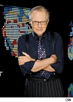 Larry King, the soon-to-be former host of CNN's