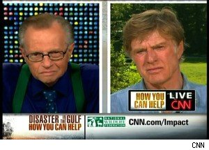 Robert Redford Discusses the Gulf Oil Spill