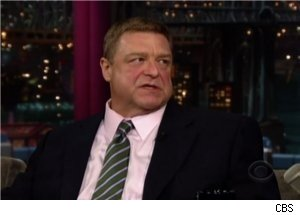 John Goodman Talks Weight Loss on 'Late Show'