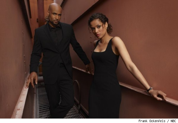 Boris Kadjoe and Gugu Mbatha-Raw in 'Undercovers' on NBC
