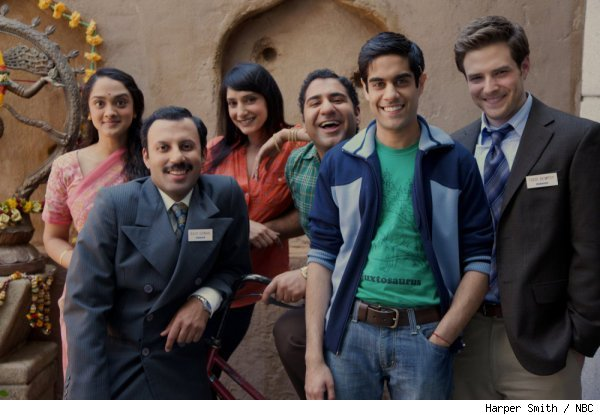 The cast of 'Outsourced' on NBC