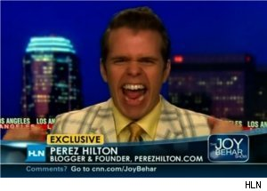 Perez Hilton Defends Miley Photo on 'Joy Behar Show'