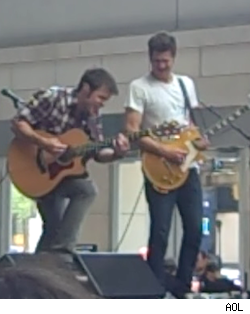 Kris Allen and Band