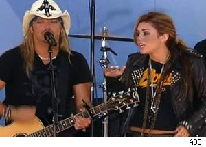 Bret Michaels, Miley Cyrus