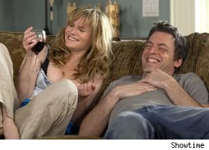 Jennifer Jason Leigh and Justin Kirk on 'Weeds'