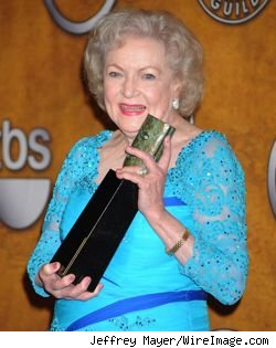 Betty White at the 2010 Screen Actors Guild Awards