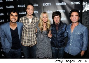 The cast of 'The Big Bang Theory' at Comic-Con