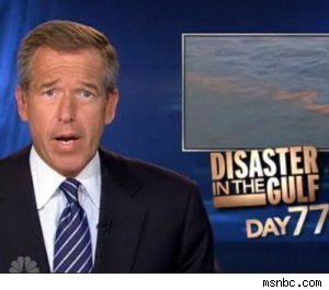 Brian Williams at work on July 5, 2010