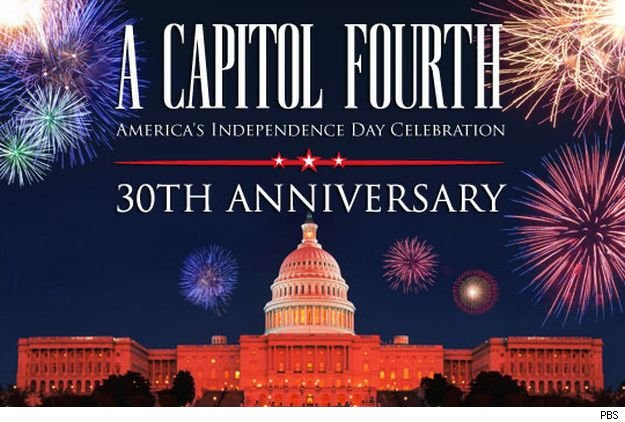 PBS presents 'A Capital Fourth,' hosted by Jimmy Smits, on Sunday at 9 p.m.