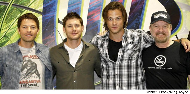 Supernatural cast - Comic Con 2010