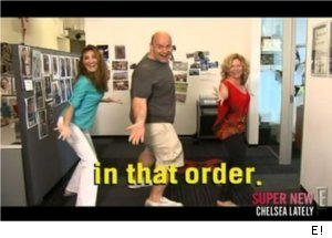 'Chelsea Lately' Staff Invents Line Dance to Mel Gibson Rant