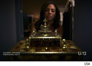 The Golden Box on 'White Collar'
