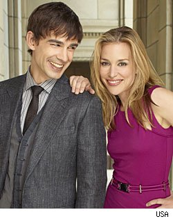 'Covert Affairs' stars Chris Gorham & Piper Perabo