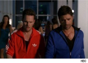 John Stamos Plays Ping-Pong on 'Entourage'