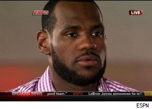 LeBron James Picks the Miami Heat: Announcement and Reactions