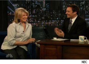 Martha Stewart, Jimmy Fallon Discuss Double Rainbow Guy