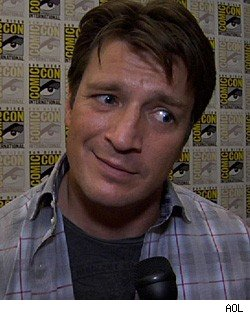 Nathan Fillion at Comic-Con 2010