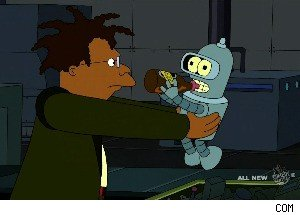 Bender Meets His Maker on 'Futurama'
