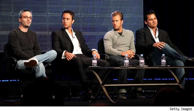 TCA 'Hawaii Five-O' panel: Alex Kurtzman, Alex O'Loughlin, Scot Caan, and Peter Lenkov