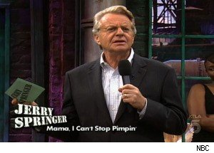 Jerry Springer Is Shocked That Pimps Have Mothers