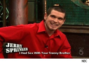 A Gay Weasel on 'Jerry Springer'