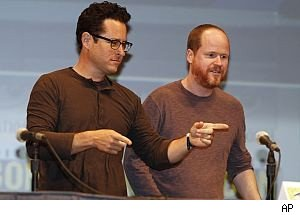 JJ Abrams and Joss Whedon