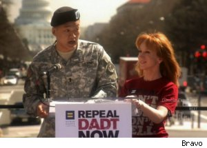Kathy Griffin Given Gay-Rights Award, Protests in D.C.