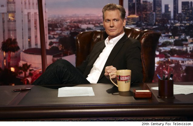 Craig Kilborn on the set of 'The Kilborn File'