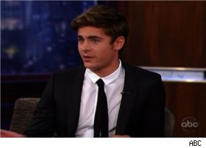 'Jimmy Kimmel Live': Zac Efron Dishes on Strip-Club Visit