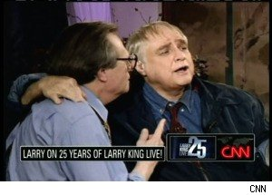 On the 25th Anniversary of His Show, Larry King Discusses His Favorite Moments