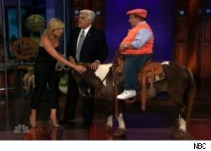 Leno Buys Chelsea Handler a Horse on 'Tonight Show'