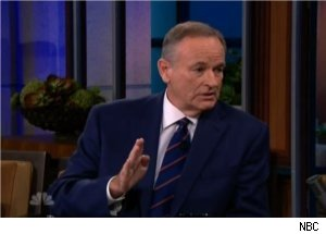 Bill O'Reilly Talks Sherrod, Lady Gaga on 'Tonight Show'