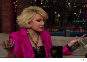 Joan Rivers Talks About Johnny Carson on 'Late Night'