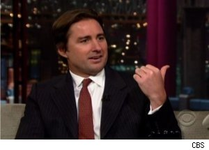 'Late Show': Luke Wilson Has a Devilish Dog