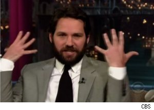 'Late Show': Paul Rudd Talks Scattering Dad's Ashes