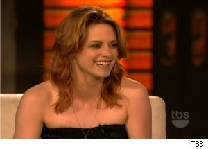 Kristen Stewart Visits Dad's Workplace: 'Lopez Tonight'