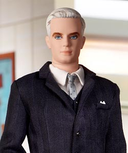 Roger Sterling barbie doll