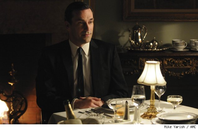 Jon Hamm in the Season 4 premiere of 'Mad Men'