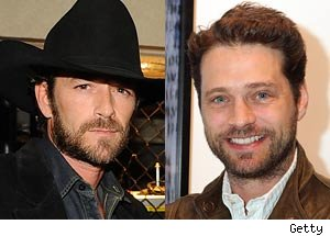 Luke Perry and Jason Priestly