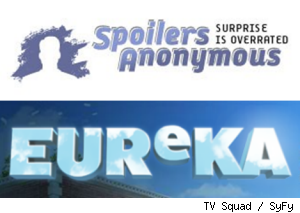 Spoilers Anonymous Eureka
