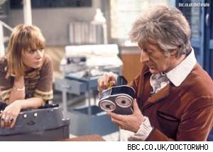 Jon Pertwee as Doctor Who in 'The Time Monster'