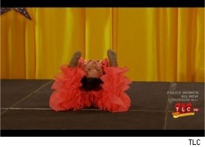 Creepy Child Contortionist on 'Toddlers &amp; Tiaras'