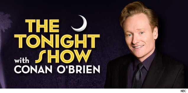 Conan O'Brien 'Tonight Show' banner