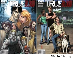 True Blood comic books