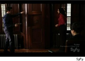 Pete, Myka Get Into Trouble with H.G. Wells on 'Warehouse 13'