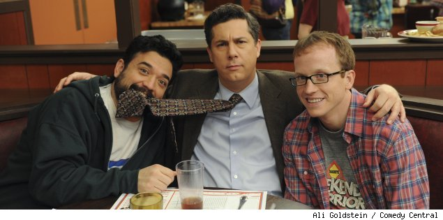 Horatio Sanz, Chris Parnell and Chris Gethard of 'Big Lake' on Comedy Central