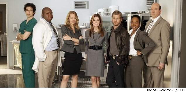 The cast of 'Body of Proof' on ABC